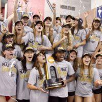 Athletics swim team victory