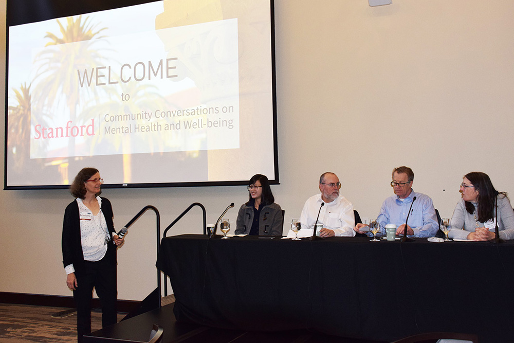 Stanford focuses on mental health at two-day conference