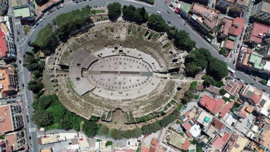 Amphitheater in Pozzuoli, Italy