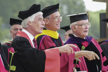 Kennedy at Commencement