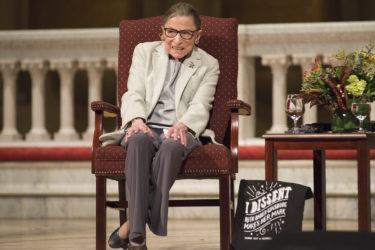 Ginsburg at Memorial Church