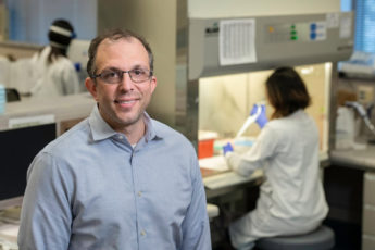Benjamin Pinsky is the medical director of the Stanford Clinical Virology Laboratory, where researchers are screening samples for known coronavirus variants circulating in the Bay Area.