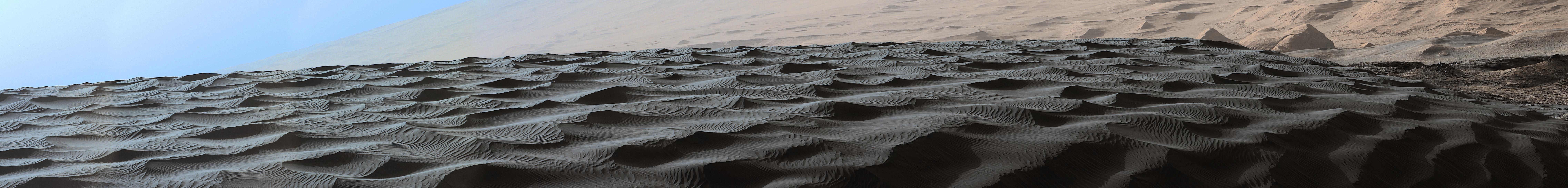 Gale Crater sand dunes