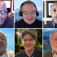 speakers at Faculty Senate meeting March 11, 2021