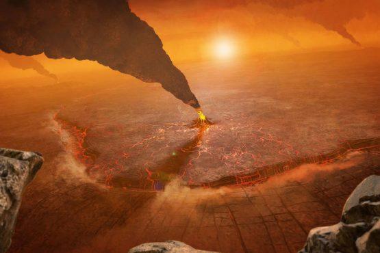 Is Venus still geologically active?