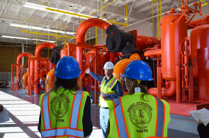 Tour of the central energy facility