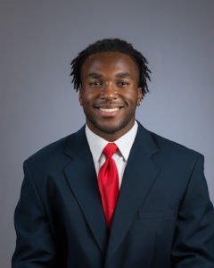 Stanford football player Bryce Love