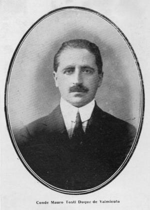 Count Mauro Tosti Valminuta