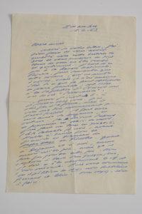 Beckett letter