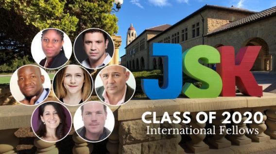 Meet the international fellows for the JSK Class of 2020