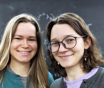 Hanna Larson and Isabel Vogt