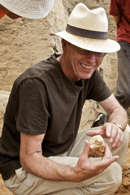 Stanford anthropologist Ian Hodder