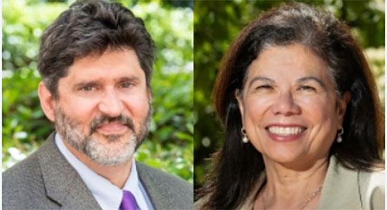 Steven Adelsheim and Yvonne Maldonado