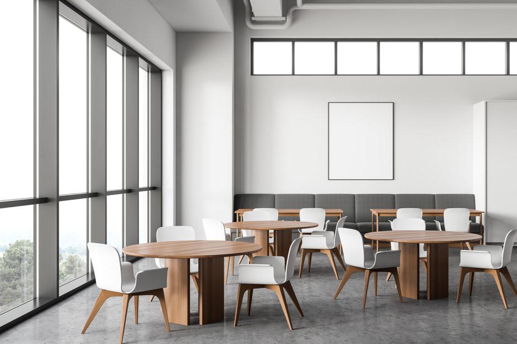 Photo of generic breakroom