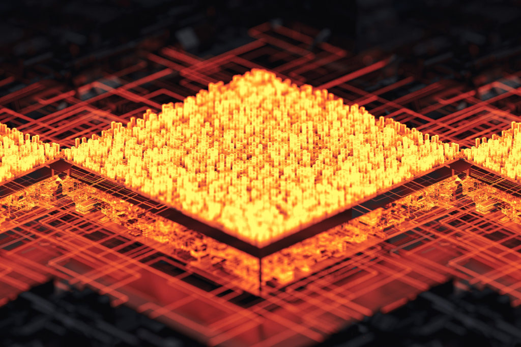 computer chip concept