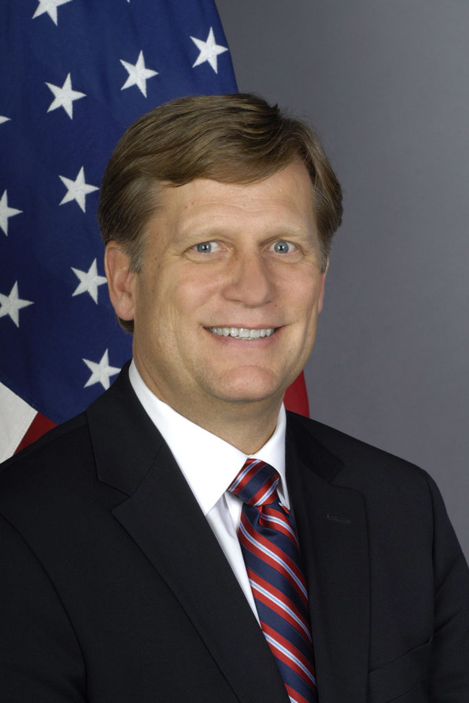 Michael McFaul portrain