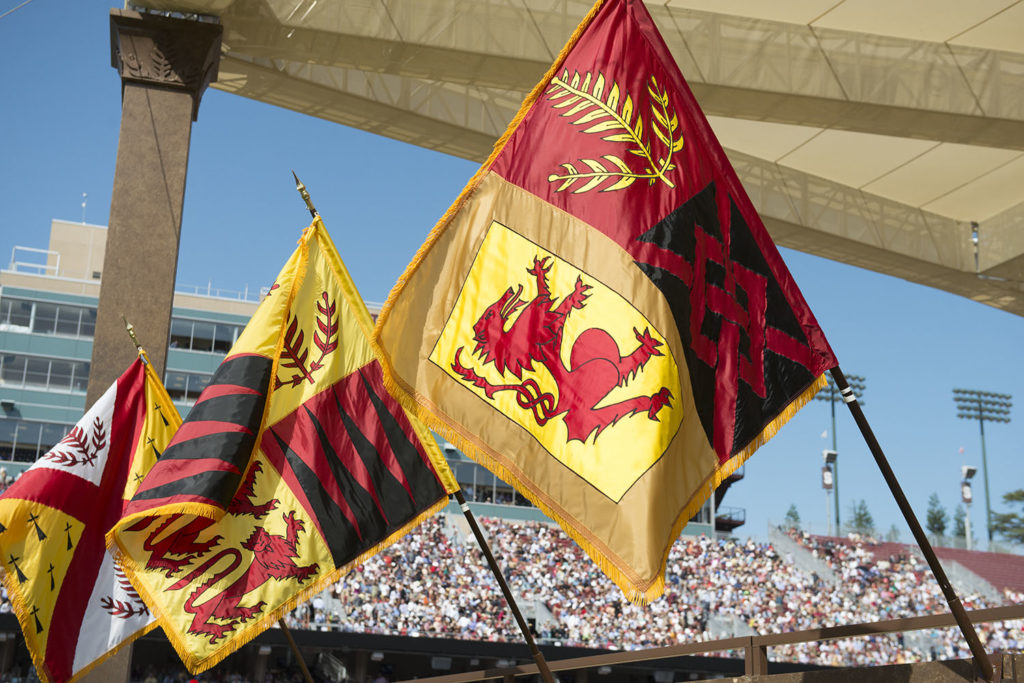 Stanford flags